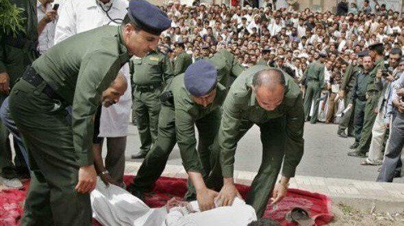 النظام السعودي الوهابي ينفذ عمليات اعدام جماعية بحق 32 مواطنا شيعيا بضوء اخضر من الادارة الامريكية