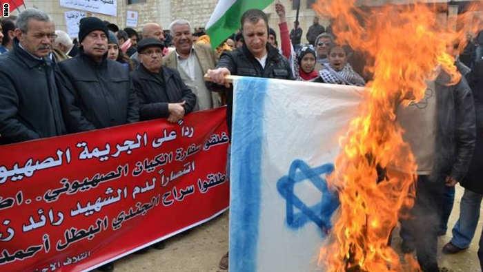 قوات الامن الاردنية تقمع تظاهرة امام السفارة الاسرائيلية طالبت بطرد السفير