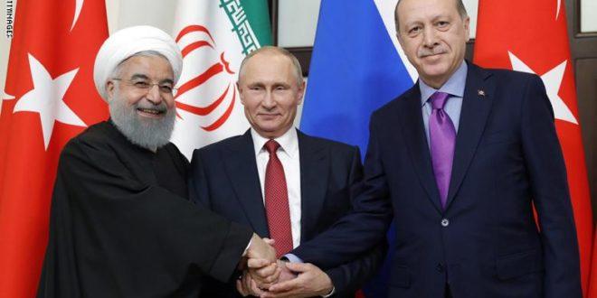 قمة بين بوتين وروحاني واردوغان في طهران مطلع الشهر المقبل