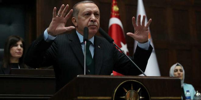 اردوغان يكشف اطماع تركيا في ادلب ويعتبر تواجد الجيش التركي فيها جزء من عمليات ضمن الامن القومي لبلاده