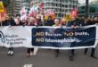 تظاهرة في لندن تندد بجريمة قتل المصلين في نيوزيلندا وتطالب بمواجهة ظاهرة الاسلاموفبيا