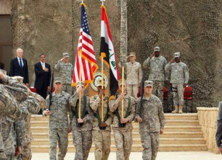 القوات الامريكية تنسحب من قاعدة الحبانية وتسلمها للعراق ضم خطة لاعادة الانتشار لتقليل مخاطر ضربات المقاومة لها
