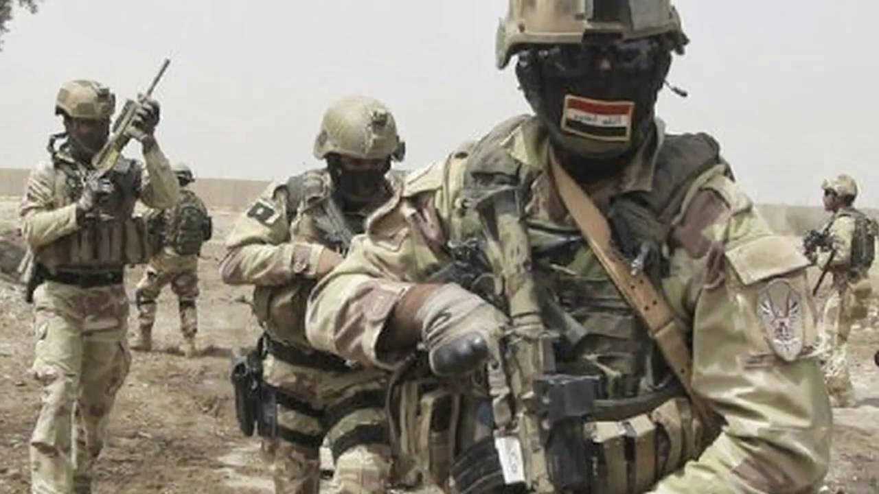 """قيادة عمليات الانبار تعلن قتل واعتقال 12 ارهابيا من عناصر تنظيم """" داعش """" الوهابي في الرمادي"""