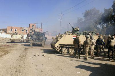 """الانبار : مقتل 21 ارهابيا من """" داعش """" في """" الكرمة """" واستشهاد 15 جنديا في نفجير منزل مفخخ"""