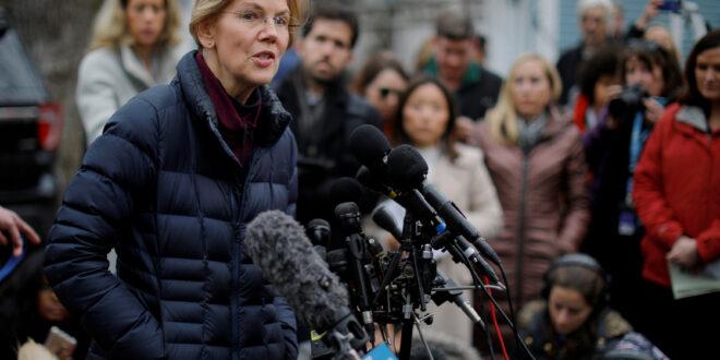 السيناتور إليزابيث آن وارن الديمقراطية تطالب بتنحية نتنياهو وإسقاطه