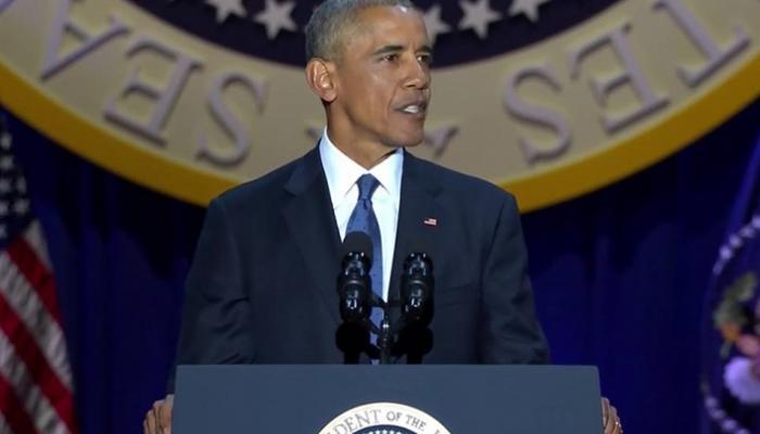 تقرير راديو اوستن : اوباما تجاهل تسليح وتدريب الجماعات المسلحة في سوريا وليبيا ودعم العدوان السعودي على اليمن وادعى ان امريكا اقوى من قبل