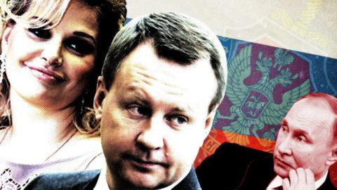 اوكرانيا القتي الروسي وزوجته