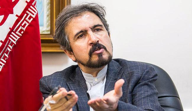 المتحدث باسم الخارجية الايرانية : السعودية مصدر وموطن تصدير الارهاب للعالم