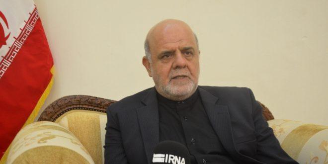 السفیر الایرانی فی بغداد : العلاقات مع السید مقتدی الصدر ودیة وتاريخية