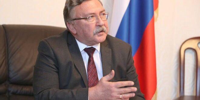 مندوب روسيا في الوكالة الدولية للطاقة يهاجم قرار العقوبات الامريكي الجديد ضد ايران ويصفه بانه لااخلاقي ولا انساني