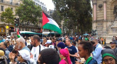 تظاهرات حاشدة في مدن فرنسية تندد باعلان ترامب القدس عاصمة لفلسطين وتندد بزيارة نتيناهو لفرنسا