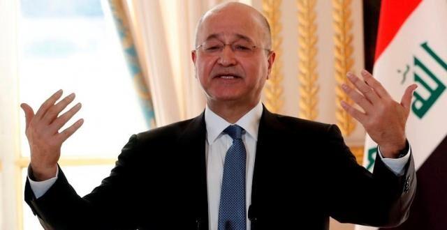 كتائب حزب الله تحذر الرئيس برهم صالح من الالتقاء بالرئيس ترامب او وزير الخارجية بومبيو القتلة وتتوعده بالطرد من بغداد ان فعل