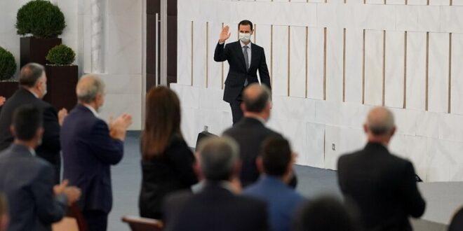 الرئيس بشار الاسد : الولايات المتحدة وتركيا حولتا المبادرات السياسية لحل الازمة في سوريا الى خرعبلات