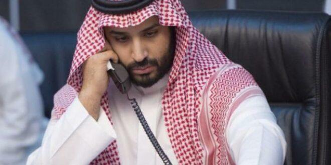 """وزير الخارجية الامريكي """"بومبيو """" يتصل بولي العهد السعودي """" بن سلمان """" لبحث تطورات التوتر الذي تشهدها المنطقة"""