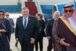 بومبيو يصل الرياض في زيارة تستمر ثلاثة ايام لبحث الدور السعودي في صفقة القرن والدور الايراني في المنطقة بعد اغتيال الفريق قاسم سليماني