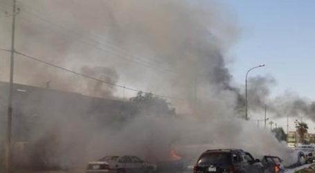 استشهاد وجرح عدد من الاشخاص في هجوم نفذه ثلاثة انتحاريين استهدف مطعما في بيجي على الطريق العام
