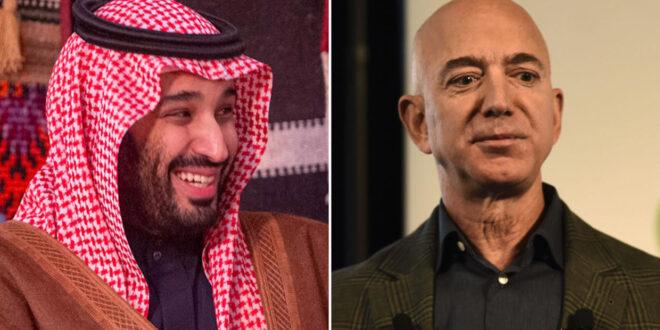 """صحيفة بريطانية : هكذا اخترق ولي العهد السعودي هاتف الملياردير رئيس شركة """"أمازون"""""""