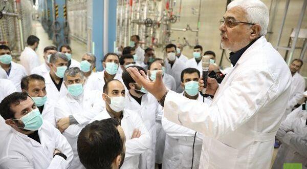 طهران : حجم الاحتياطي لدينا من اليورانيوم المخصب بنسبة أقل من 5% بلغ  الـ 1200 كيلوغرام