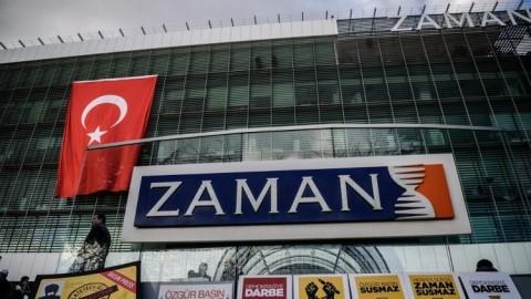 تركيا اغلاق صحيفة زمان 2