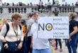 احتجاجات ترفض التلقيح ضد كورونا في لندن واصابة 4 من الشرطة واعتقال 6 من المتظاهرين