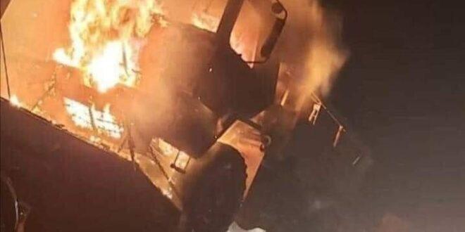 ازدياد الهجمات ضد الارتال العسكرية التي تنقل دعما لوجستيا للقوات الامريكية في مناطق صلاح الدين وجنوب وشمالي بغداد وبابل