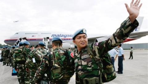 جنود ماليزيون