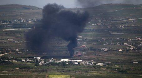 سقوط قذيفة سورية في الجولان المحتل اثناء تواجد نتنياهو في احدى المستوطنات هناك