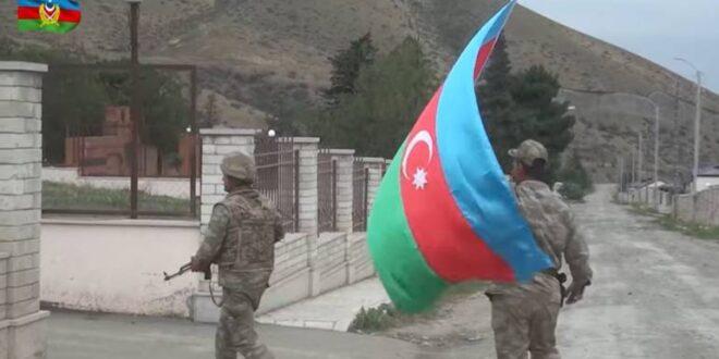 الرئيس الاذربيجاني يعلن السيطرة على مدينة ثالثة في اقليم قره باغ