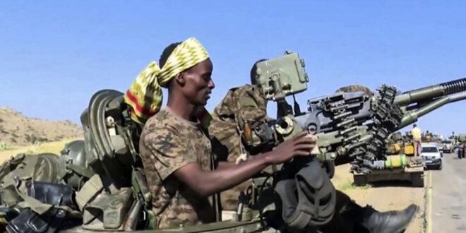 الجيش الاثيوبي يمهل قوات اقليم تيغراي 72 ساعة لاستسلامها والا سيبدأ الهجوم على عاصمة الاقليم