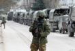 اوكرانيا تتهم روسيا بقصف 20موقعا عسكريا للجيش الاوكراني عند الحدود بين البلدين وموسكو تحذر الناتو من ارسال قوات لاوكرانيا