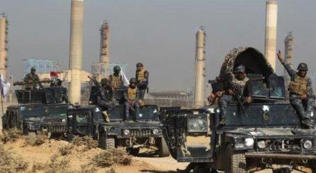 القوات العراقية تحرر 40 بئرا نفطية غرب الموصل كانت قد فرضت قوات البيشمركة سيطرتها عليها
