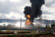 اندلاع حريق في مجمع مصافي نفط حيفا في فلسطين المحتلة