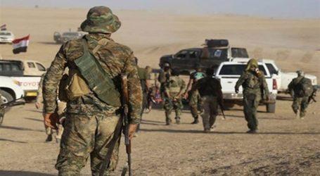قوات الحشد الشعبي تسيطر على اهم خطوط المواصلات في بادية الصحراء في المنطقة المحصورة بين الانبار والموصل وصلاح الدين