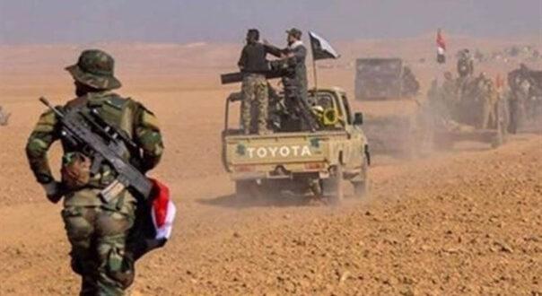 استشهاد مقاتل من الحشد الشعبي وحرح اثنين اخرين في صد تعرض لداعش الارهابي