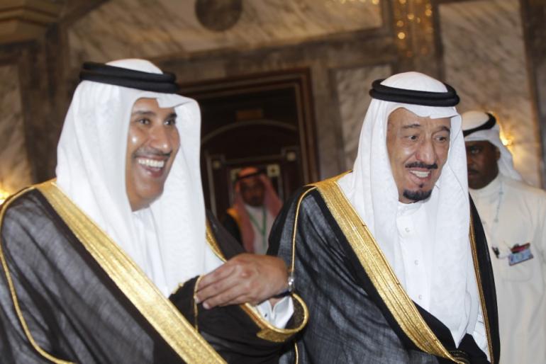 تقرير اوروبي : اتصالات سعودية بحمد بن جاسم للاطاحة بحاكم قطر وقلق غربي من تنام الخلافات داخل مجلس التعاون