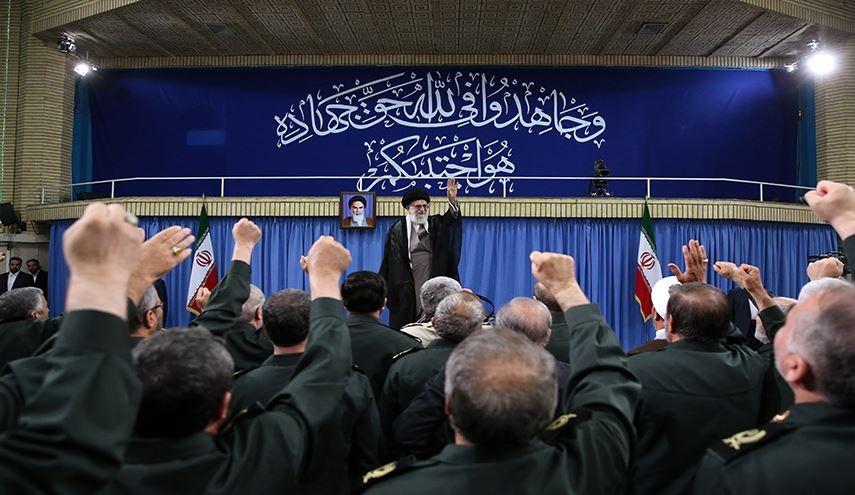 قائد في حرس الثورة الاسلامية : الجمنا من هو اكثر جنونا من الرئيس ترامب ووصفنا بالارهاب اتهام اهوج