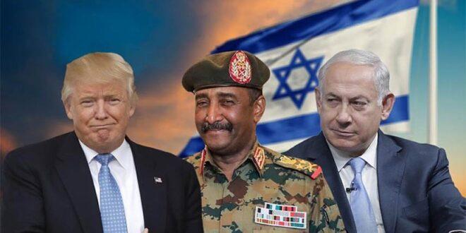 بضغوط امريكية كبيرة .. النظام السوداني يعلن الموافقة على تطبيع العلاقات مع كيان الاحتلال الاسرائيلي