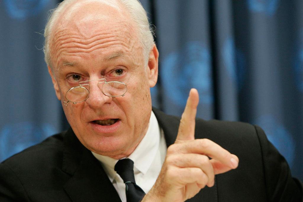 دي ميستورا: سوريا تتجه نحو تقسيم كارثي وعودة داعش