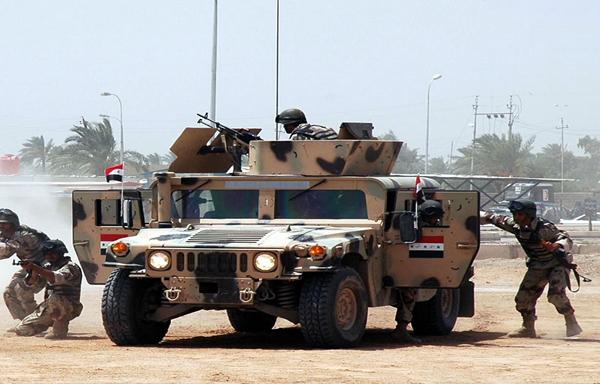 """استشهاد 14 جنديا في تفجير """"منزل مفخخ """" في """" حي البكر """" اثناء محاولتهم ابطال المتفجرات لعودة السكان اليه"""