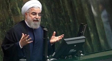 الرئيس روحاني يدعو السعودية الى قطع الصداقة المغلوطة مع الكيان الصهيوني ووقف الحرب على اليمن كشرط لتطبيع العلاقات معها