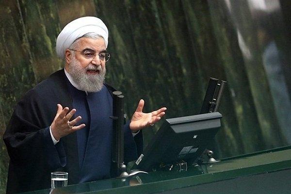 الرئيس روحاني : سنلاحق المخططين والداعمين للاعتداء الارهابي في الاهواز وستعلم امريكا انها تعيش اضغاث احلام فشعبنا لن يستسلم