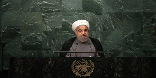 الرئيس روحاني : سياستنا .. التعهدات مقابل التعهدات والنقض مقابل النقض والتهديد مقابل التهديد