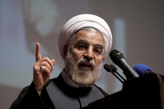 الرئيس الايراني روحاني يؤكد : مصصمون على كسر الحظر الغربي الظالم  ولن نسعى لامتلاك سلاح نووي