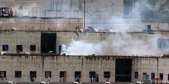 ارتفاع عدد قتلى أعمال الشغب في 3 سجون في الاكوادور إلى 62 شخصا