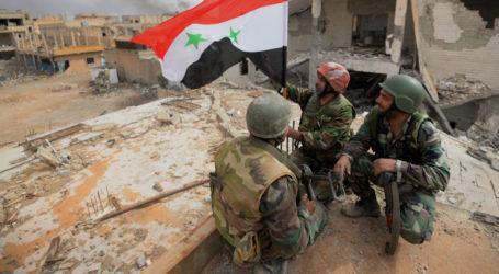 """الجيش السوري يسيطر على """"سد القريتين """" ويوسع نطاق سيطرته في ريف حمص الجنوبي الشرقي"""
