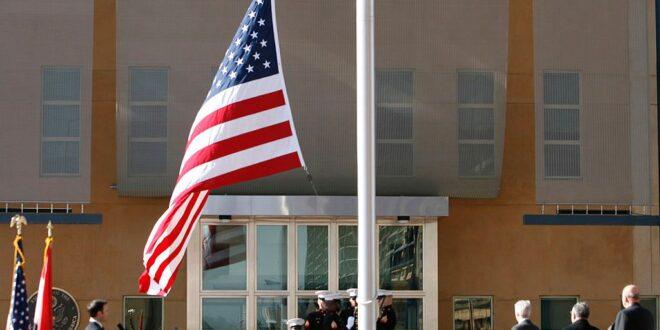 كتائب حزب الله : السفارة الامريكية في بغداد تمارس التجسس والتامر على العراق والمنطقة ومن الواجب طرد السفير واغلاقها