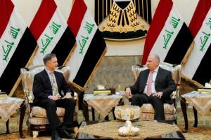 سفير الاميركي في بغداد ستيفن بيكروفت