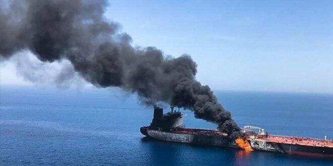 واشنطن تتبنى النظرية الاسرائيلية : واثقون أن إيران هي التي نفذت الهجوم على السفينة الإسرائيلية قبالة سواحل عمان