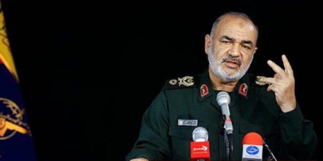 قائد حرس الثورة الاسلامية : قواتنا تتصدى للتهديدات قل ان تتشكل على ارض الواقع