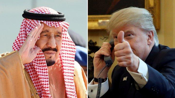 الملك سلمان وولي عهده يقران نشر قوات أمريكية في السعودية